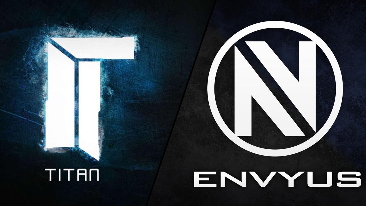 Titan et EnvyUs échangent de joueurs