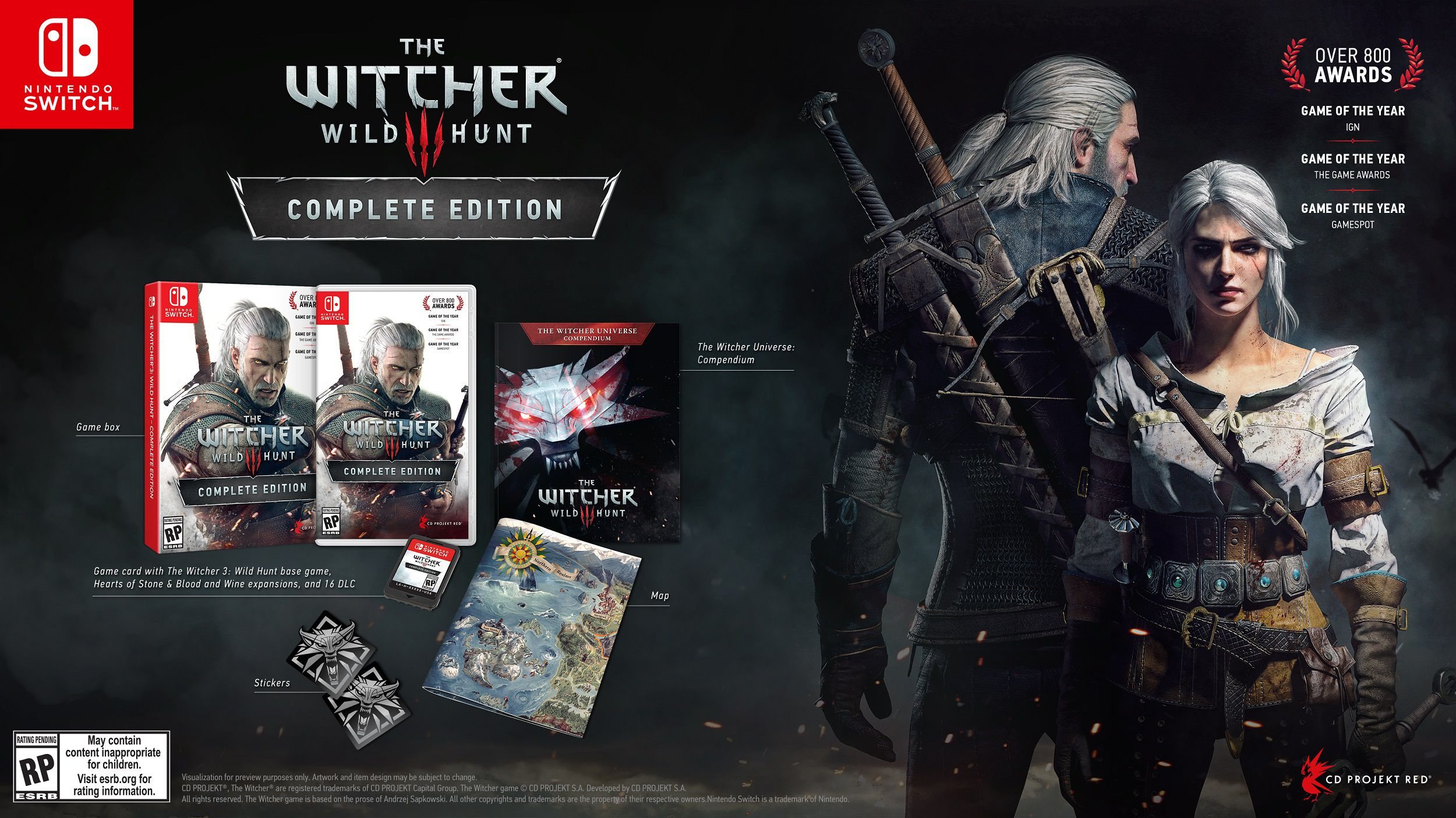 witcher III complete edition