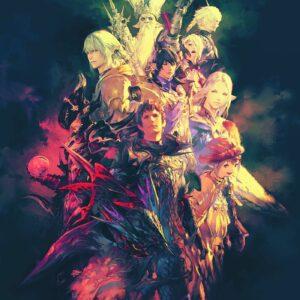 FF XIV shadowbringers poster