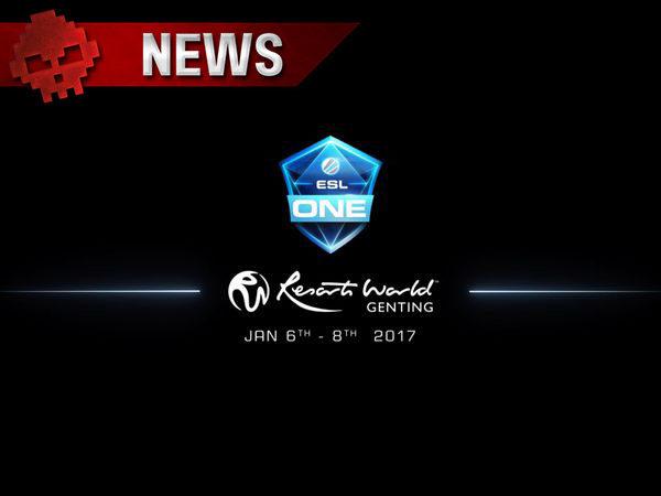 DOTA 2 - La finale de l'ESL ONE 2017 : DG vs Newbee