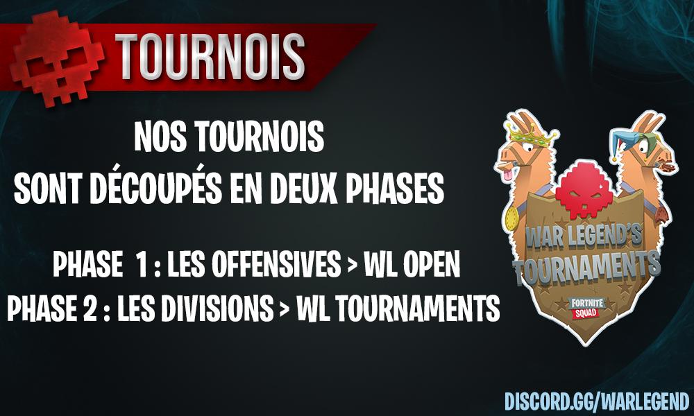 presentation des war legend s tournaments duo squad et fmif - discord pour tournoi fortnite