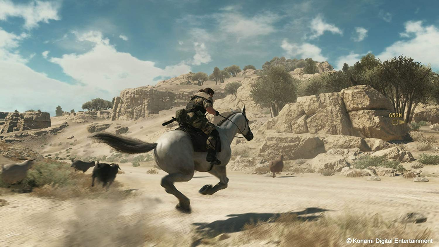 MGS V - Snake sur un cheval