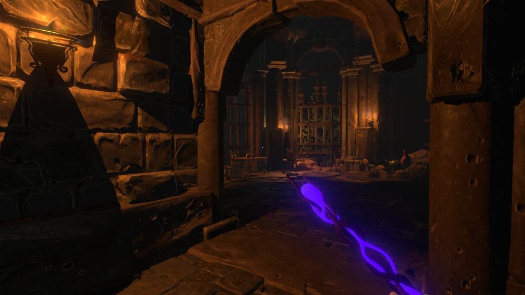 Underworld Ascendant bâton magique