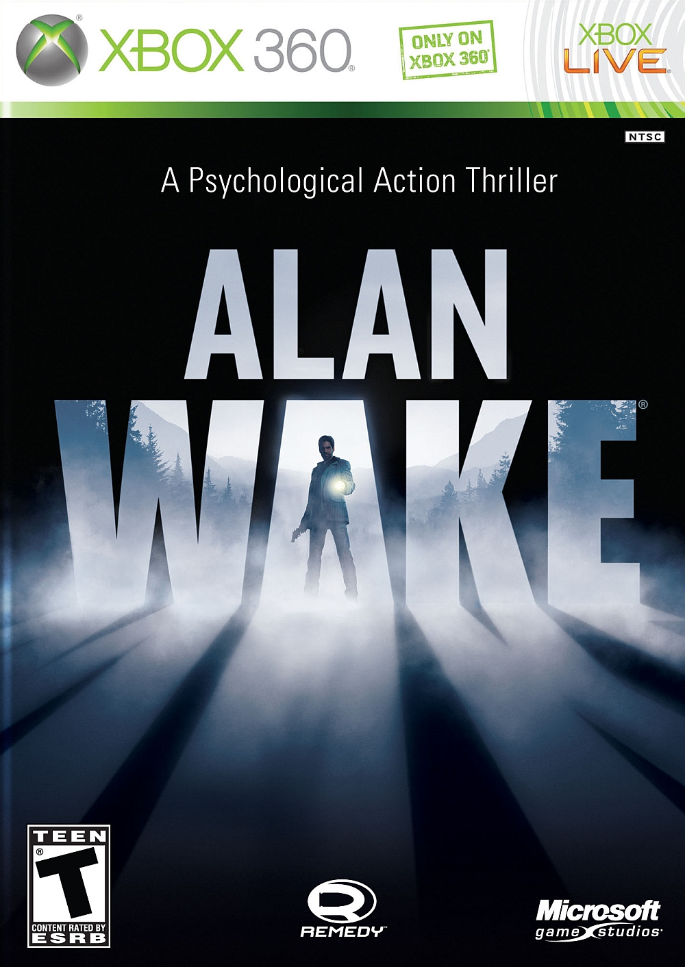 Jaquette Alan Wake Xbox 360