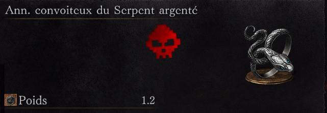 Guide Dark Souls III - Tous les anneaux convoiteux du serpent argenté