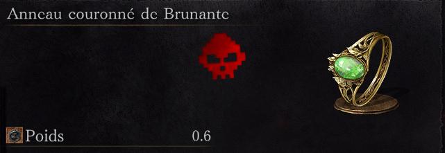 Guide Dark Souls III - Tous les anneaux couronne de brunante