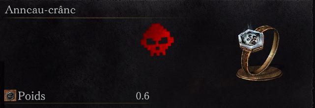 Guide Dark Souls III - Tous les anneaux anneau crâne