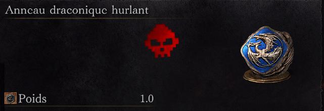 Guide Dark Souls III - Tous les anneaux draconique hurlant