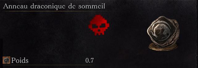 Guide Dark Souls III - Tous les anneaux draconique de sommeil