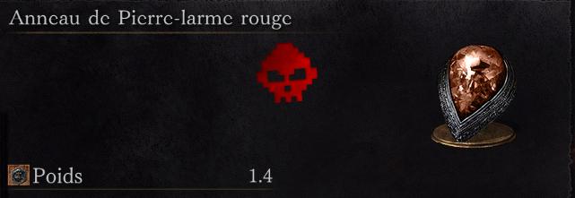 Guide Dark Souls III - Tous les anneaux larme rouge