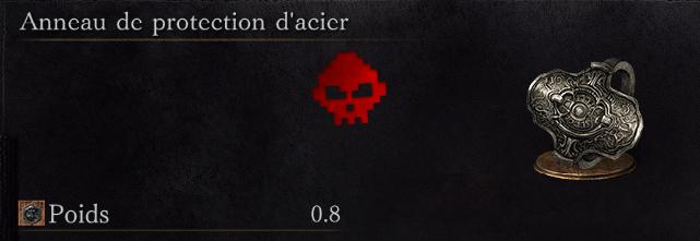 Guide Dark Souls III - Tous les anneaux protection d'acier