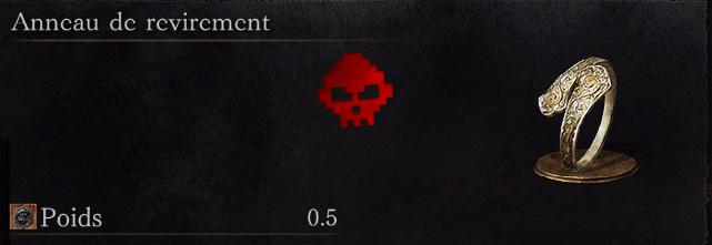Guide Dark Souls III - Tous les anneaux revirement