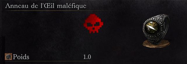 Guide Dark Souls III - Tous les anneaux œil maléfique