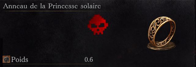 Guide Dark Souls III - Tous les anneaux princesse solaire