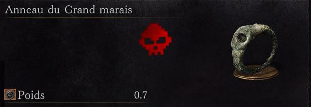 Guide Dark Souls III - Tous les anneaux grand marais