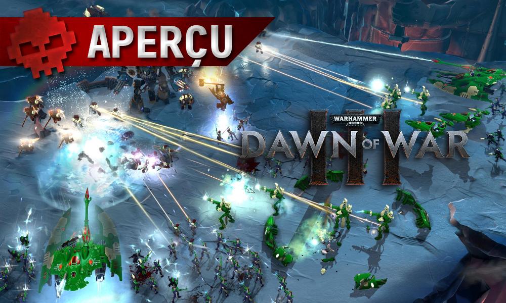 Aperçu Dawn of War 3