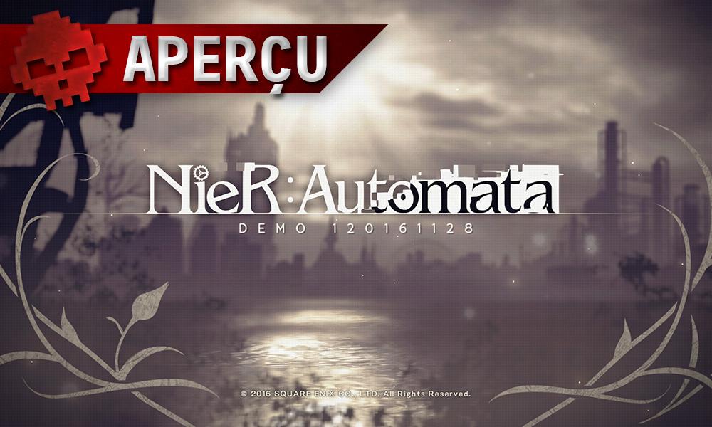 Aperçu NieR Automata logo du jeu