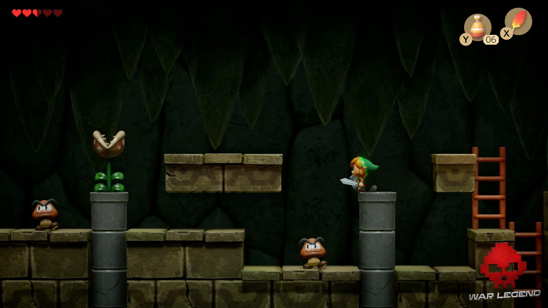 Test The Legend of Zelda: Link's Awakening - Phase de plateforme