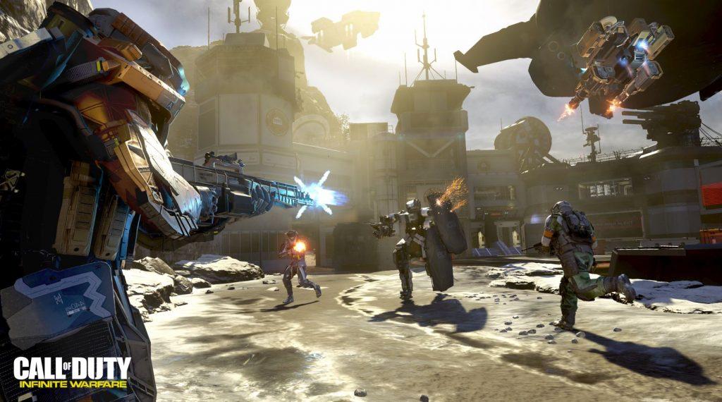 Aperçu Call of Duty Infinite Warfare gameplay breakout