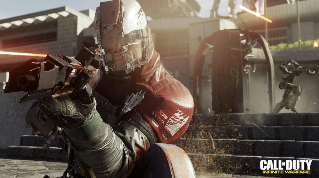 Aperçu Call of Duty Infinite Warfare soldat de face
