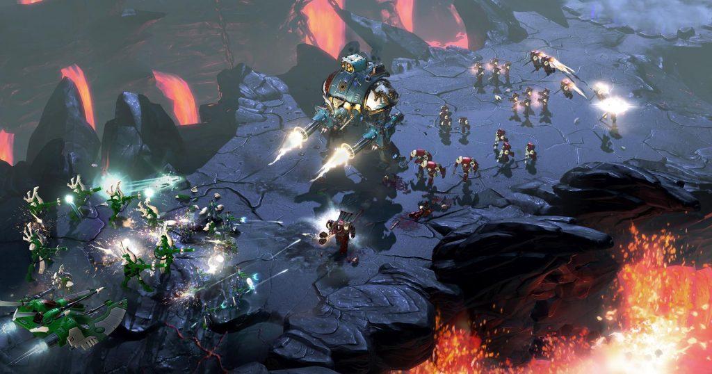 Aperçu Warhammer 40K: Dawn of War 3 combat unités