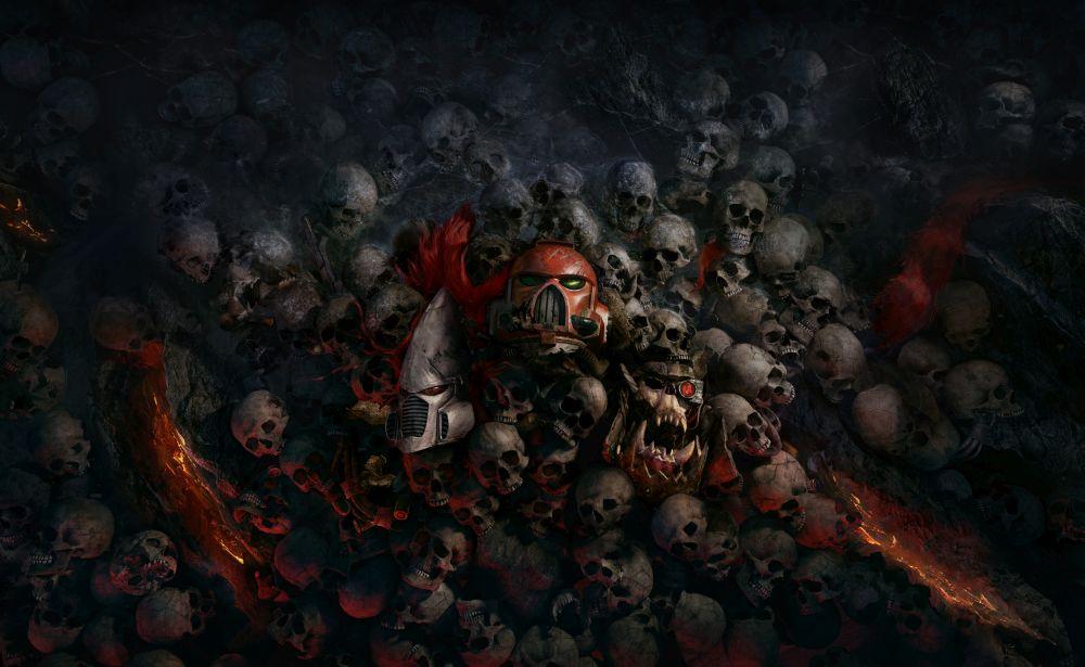 Aperçu Warhammer 40K: Dawn of War 3 space marine crânes
