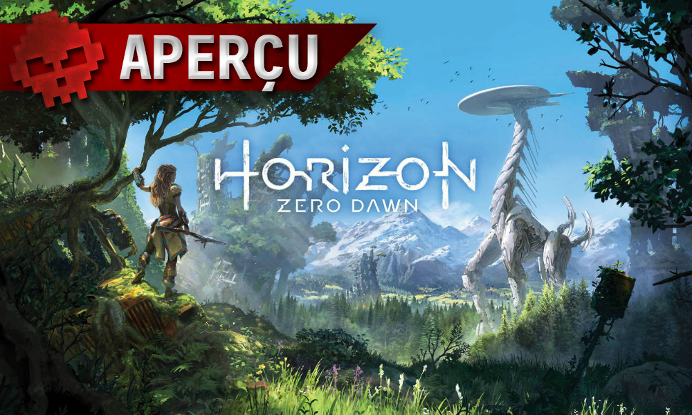 Aperçu Horizon Zero Dawn