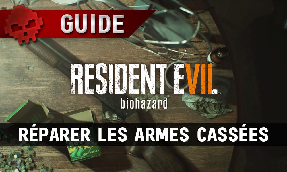 Guide Resident Evil 7 - Réparer les armes cassées