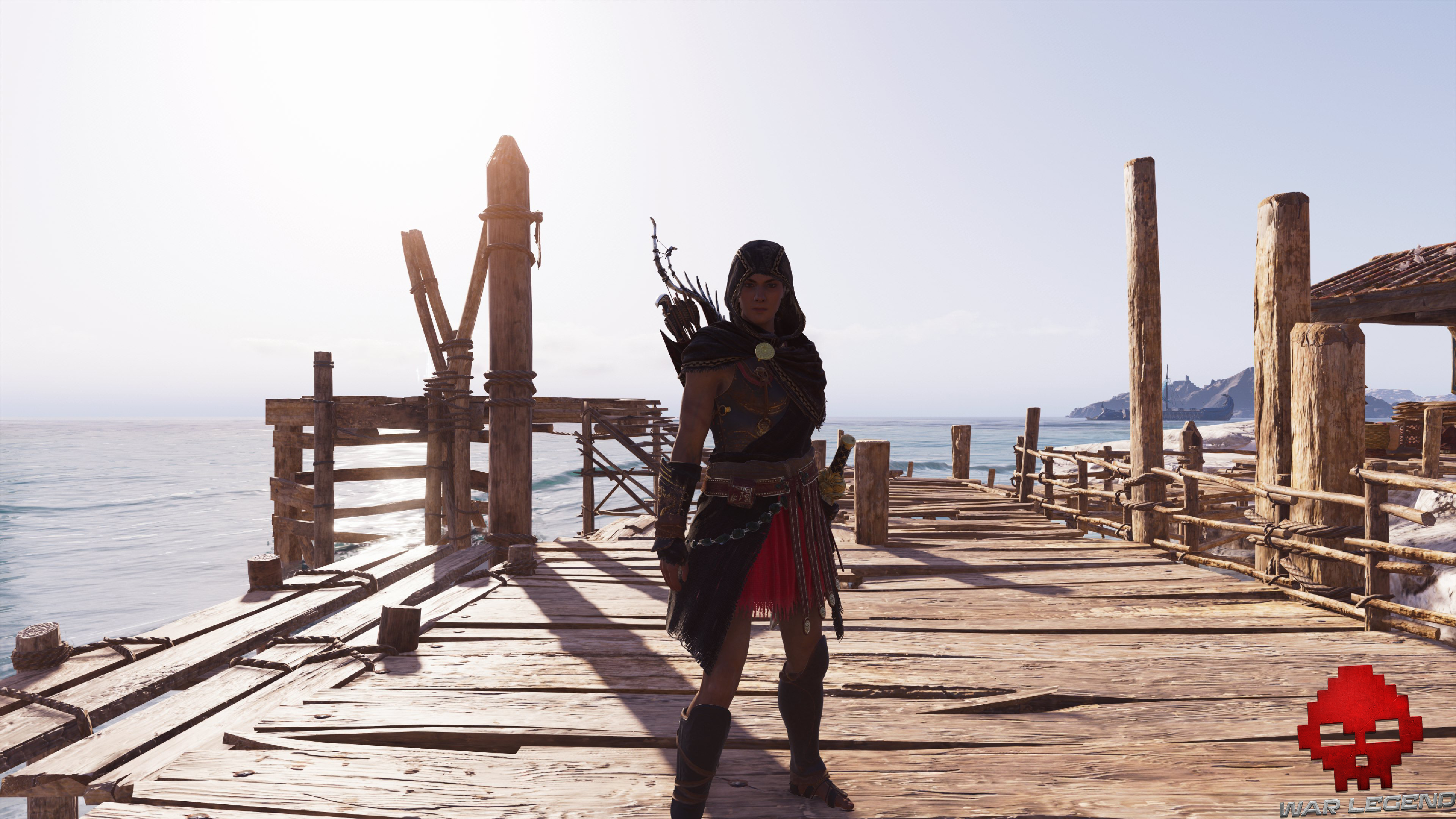 Armure légendaire de pirate Assassin's Creed Odyssey armure assassin