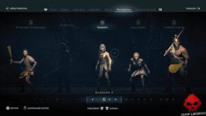 Guide débutant Assassin's Creed Odyssey - Fenêtre des mercenaires