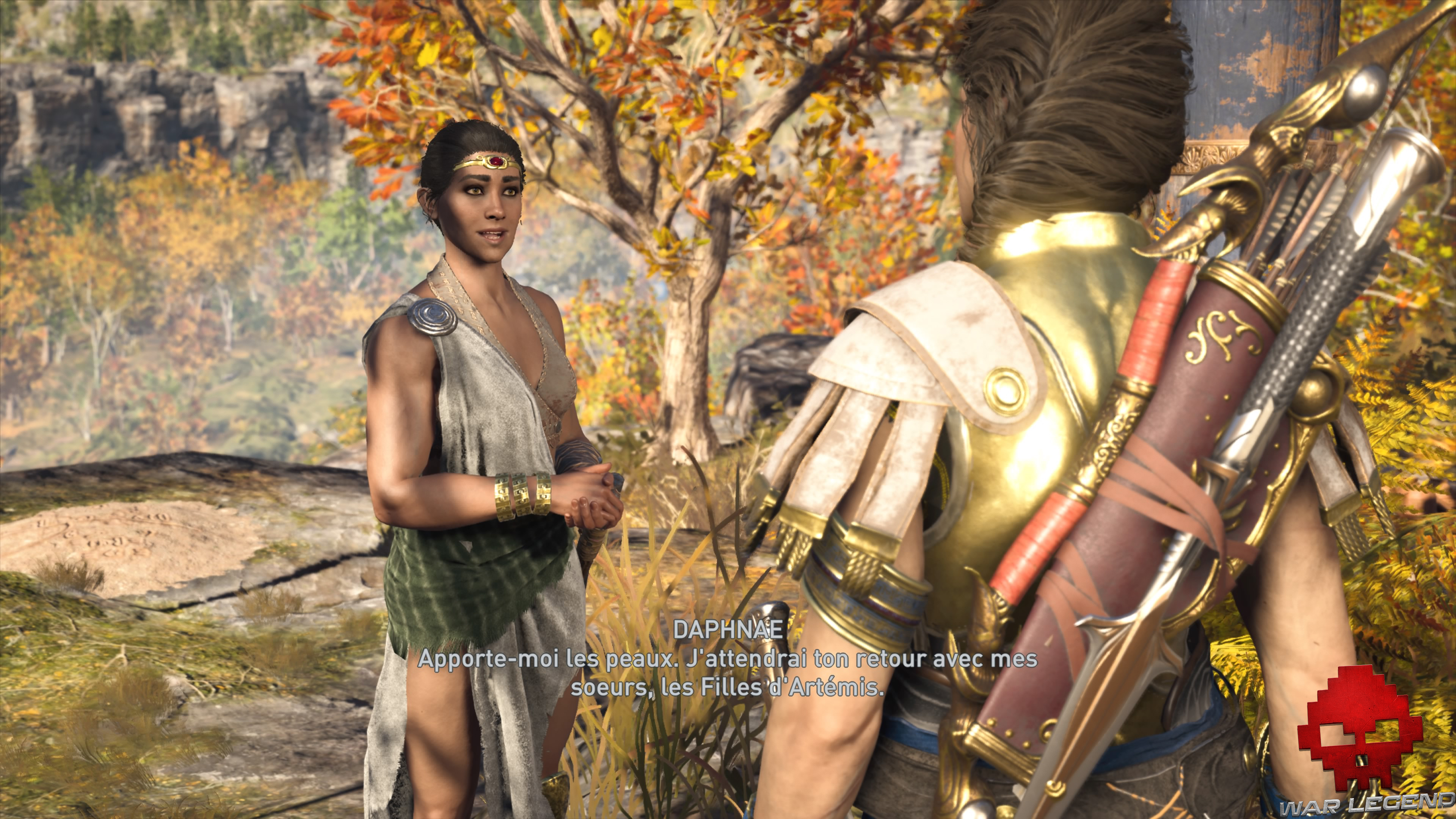 Guide bêtes mythiques Assassin's Creed Odyssey - Daphnae