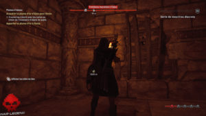 Guide Assassin's Creed Odyssey tombeaux mur détruisible 1