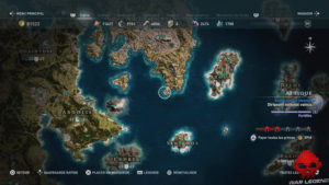 Guide assassin's creed odyssey xenia carte emplacement xenia