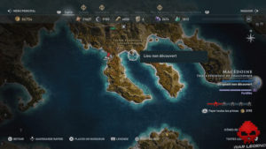 Guide assassin's creed odyssey emplacement conque