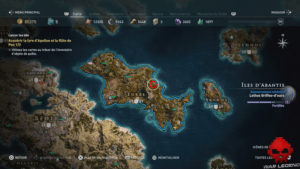 Guide assassin's creed odyssey emplacement temple d'Apollon