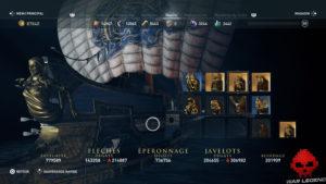 Guide Assassin's Creed Odyssey - Tous les cosmétiques de navire - figures de proue