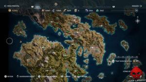 Guide assassin's creed odyssey emplacement taureau enragé