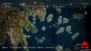 Guide assassin's creed odyssey emplacement aube écarlate
