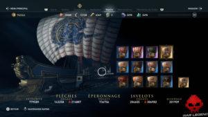 Guide Assassin's Creed Odyssey - Tous les cosmétiques de navire - apparence de navire