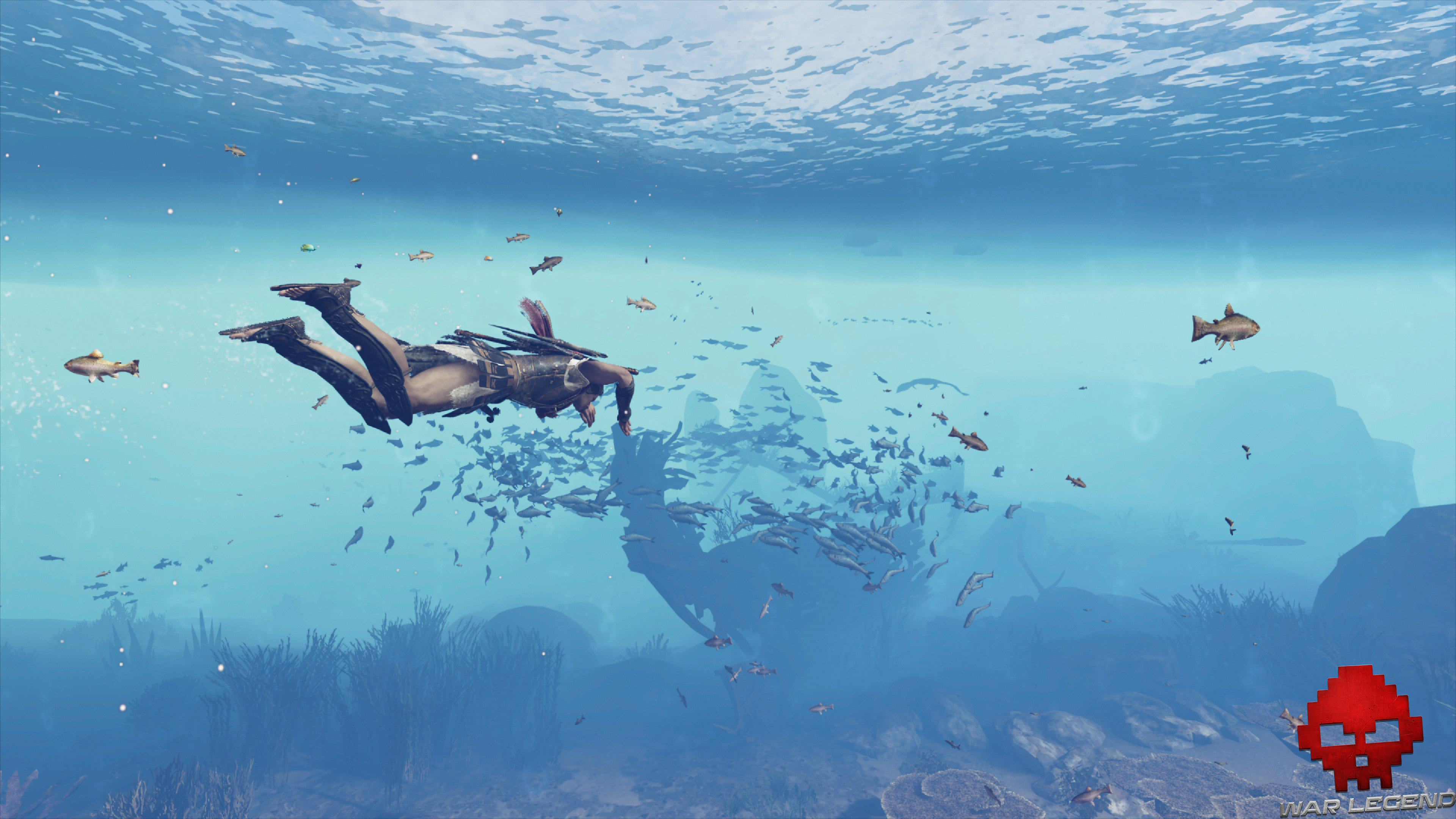 Test Assassin's Creed Odyssey - Plongée sous-marine