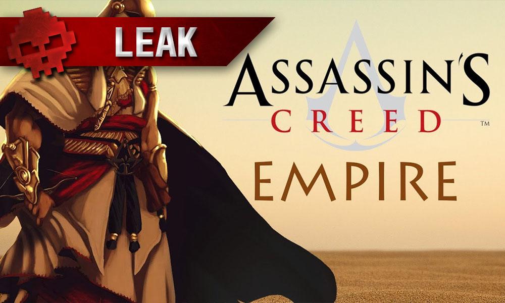 Assassin's Creed Empire - Leak du mois de sortie et infos sur le jeu