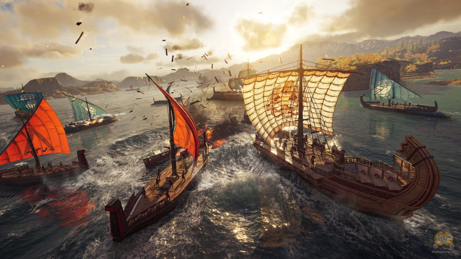 Assassin's Creed Odyssey bataille navale