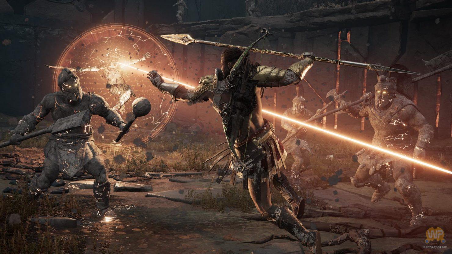 Assassin's Creed Odyssey  assassin contre ennemi surnaturel