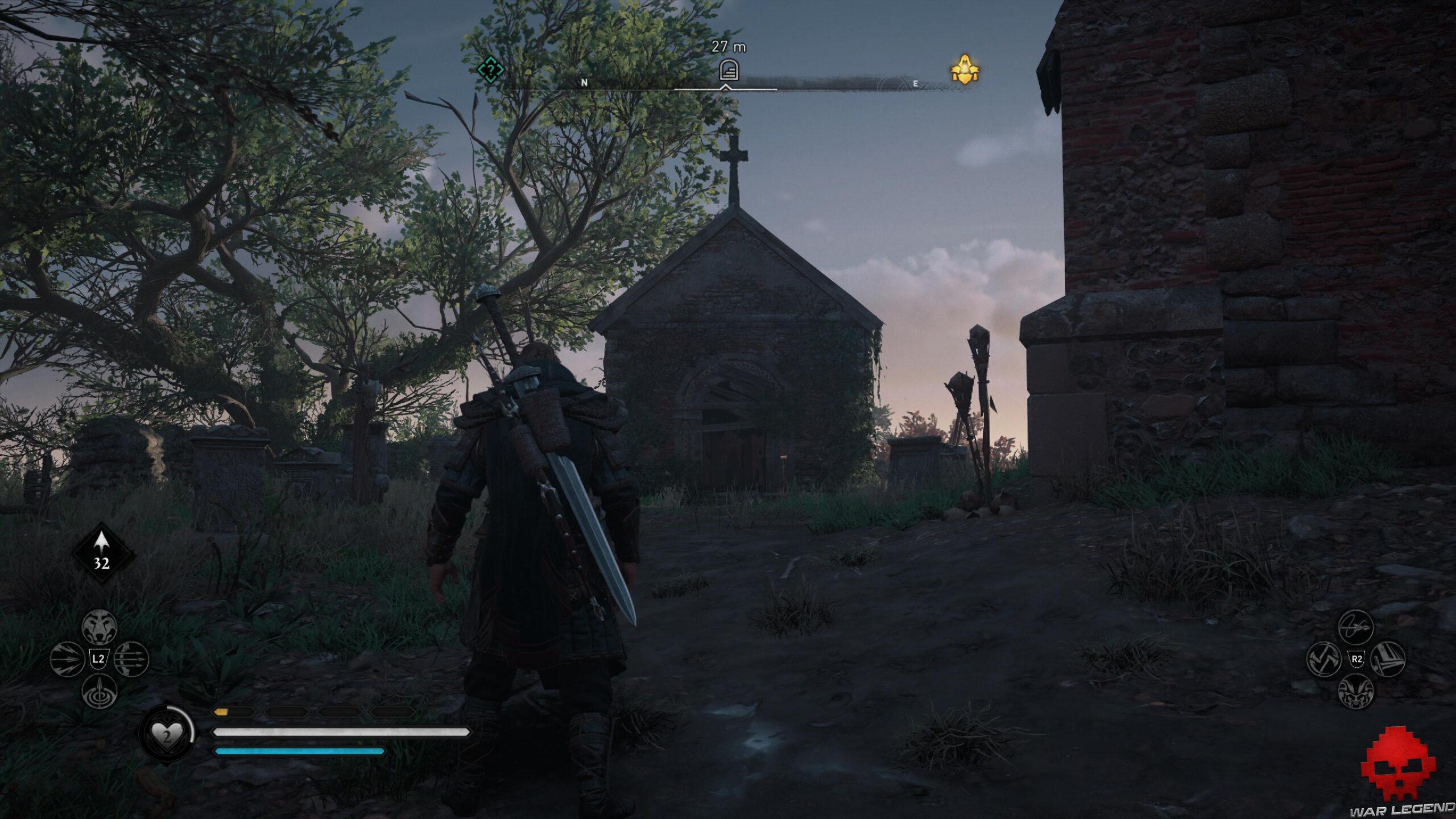 Tombeau de Thor Assassin's Creed Valhalla
