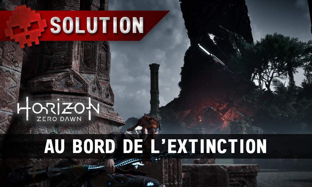 Soluce complète de Horizon: Zero Dawn Au bord de l'extinction
