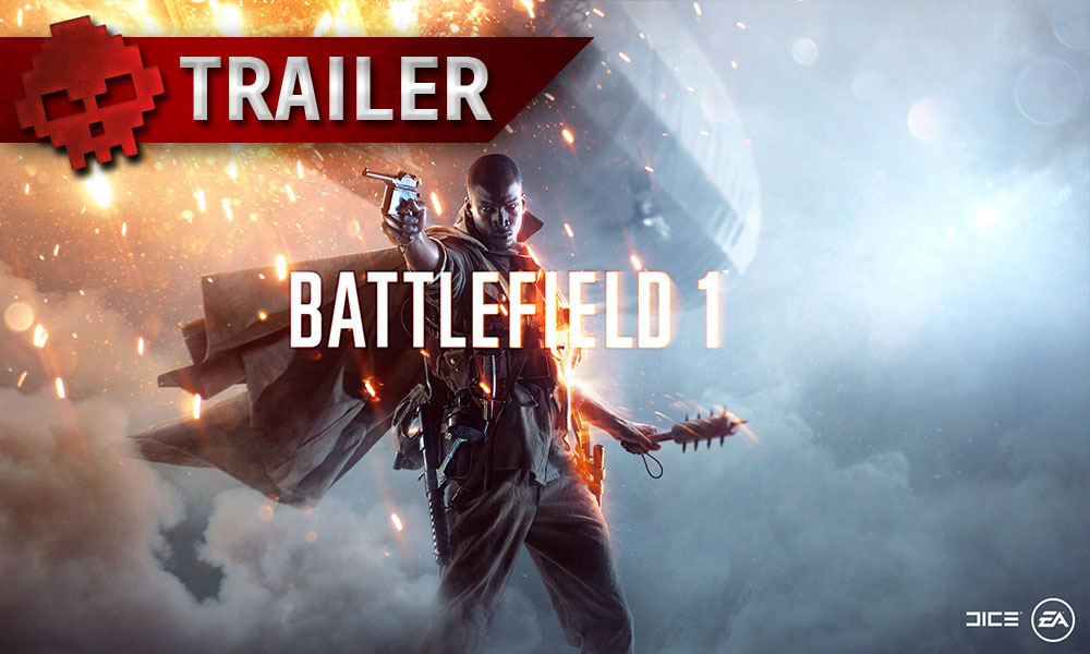 """Battlefield 1 - Un nouveau trailer présente le mode """"Lignes de front"""" Soldat poitant une arme"""