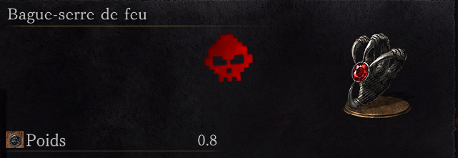 Guide Dark Souls III - Tous les anneaux bague-serre de feu