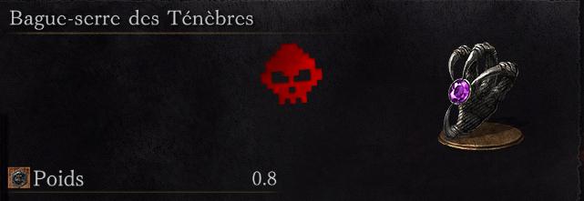 Guide Dark Souls III - Tous les anneaux bague-serre des ténèbres