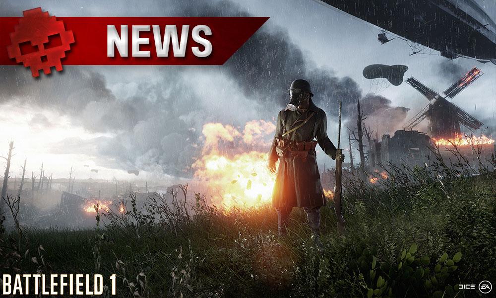 Battlefield 1 - L'armée française ravage la carte Soissons en vidéo
