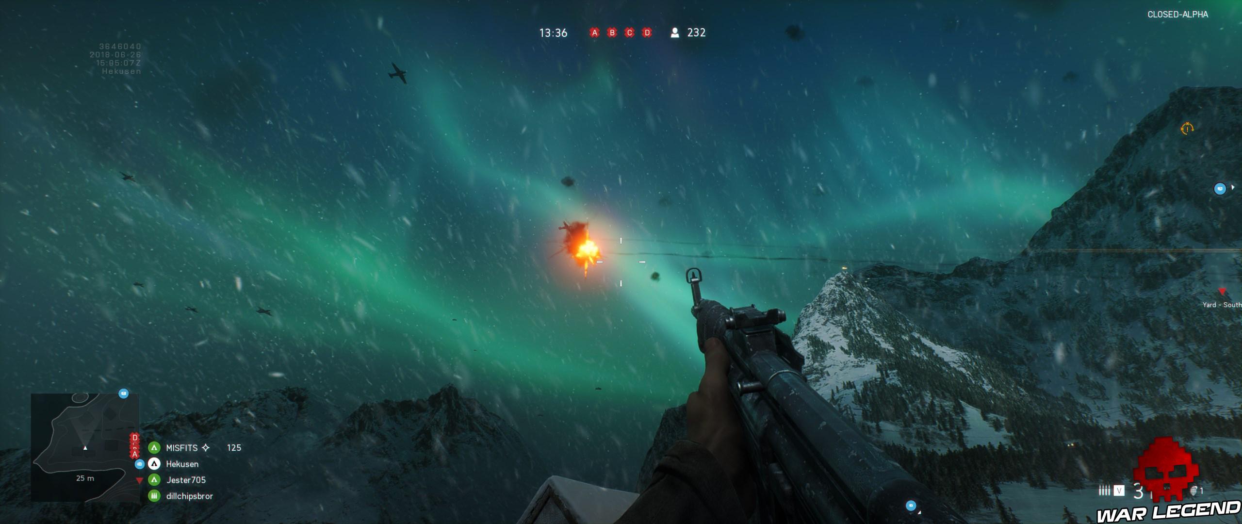 Battlefield V 1 aurore boréale